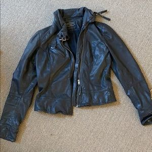 Vintage all saints leather jacket